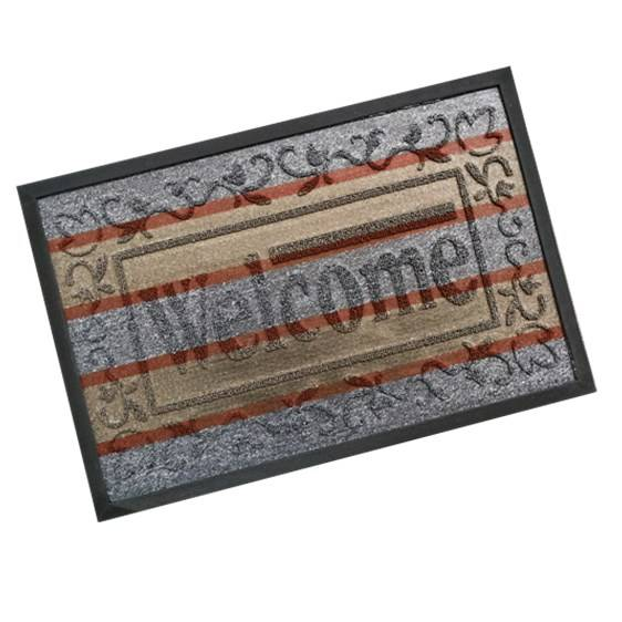 Yiwu Kunming Artificial Flower Factory - Custom Foot Floor Door Mat With A Message  – Yunis