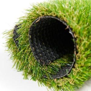 Four-color grass-artificial turf for sports