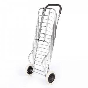 China Wholesale Shopping Cart With Dual Swivel Wheels Factories - Shopping Cart DG1001 – DuoDuo