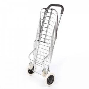 China Wholesale Rolling Shopping Cart Manufacturers - Shopping Cart DG1002 – DuoDuo
