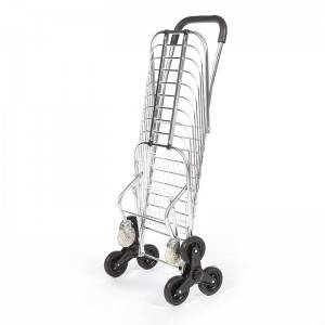 DuoDuo Folding Shopping Cart DG1004 with Tri-Wheels