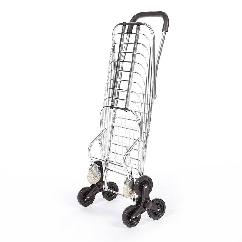 China Wholesale Trolly Bag For Shopping Suppliers - DuoDuo Folding Shopping Cart DG1004 with Tri-Wheels  – DuoDuo