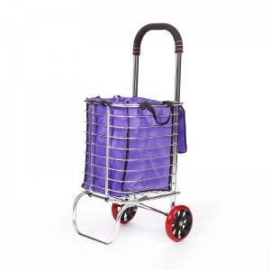 China Wholesale Folding Trolley On Wheels Manufacturers - Shopping Cart DG1005 – DuoDuo