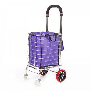 China Wholesale 2 Wheel Shopping Trolley Factory - Shopping Cart DG1006 – DuoDuo