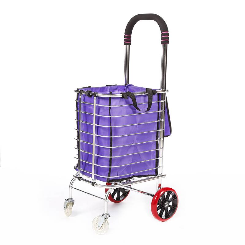 China Wholesale Rolling Shopping Cart Factory - Shopping Cart DG1006 – DuoDuo