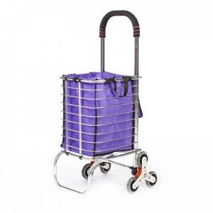 China Wholesale Rolling Shopping Basket Factories - Shopping Cart DG1007 – DuoDuo