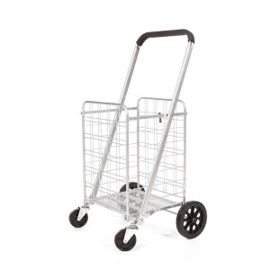 DuoDuo Shopping Cart DG1026/DG1027 with 360° Rolling Swivel Wheels
