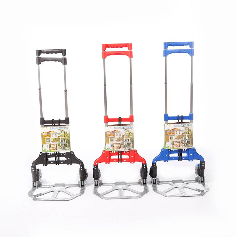 China Wholesale Step Climbing Trolley Factory - Folding luggage trolley DX3001 – DuoDuo Featured Image
