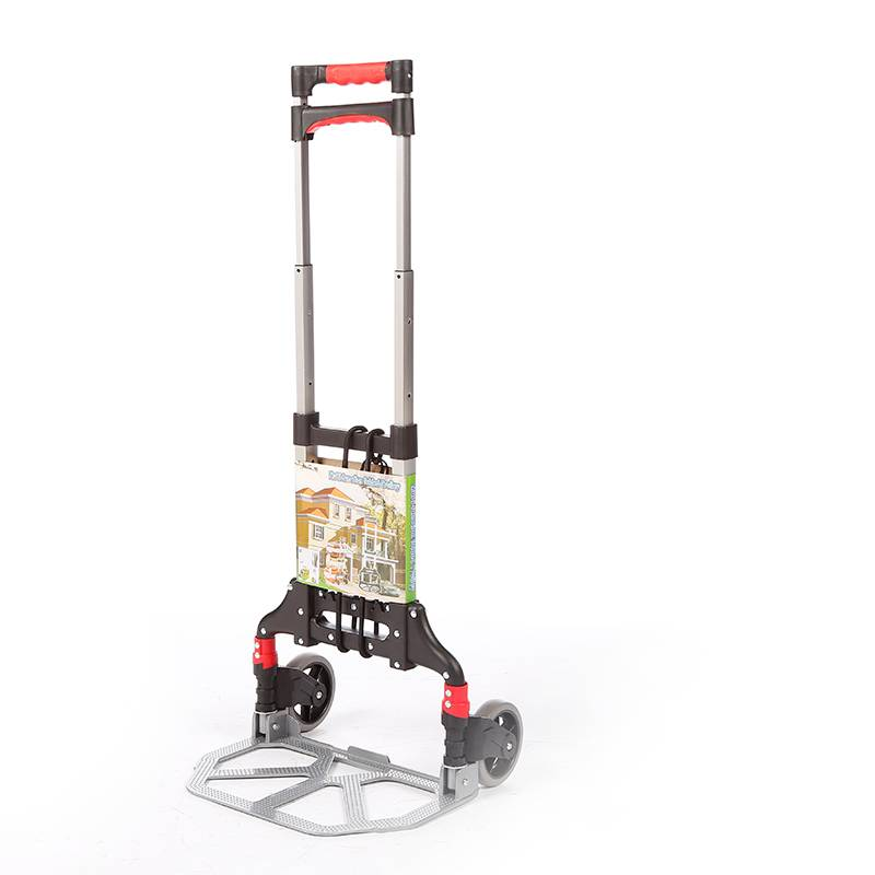 China Wholesale Hand Truck Trolley Manufacturers - Folding luggage trolley DX3002 – DuoDuo