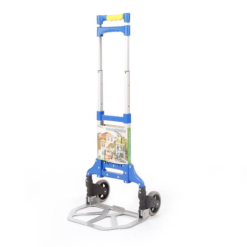 China Wholesale Hand Truck Trolley Manufacturers - Folding luggage trolley DX3002 – DuoDuo Featured Image