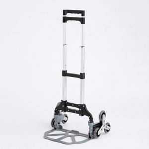 China Wholesale Hand Truck Cart Folding Factory - Folding luggage trolley DX3003 – DuoDuo