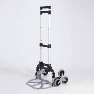China Wholesale Trolley Dolly Stair Climber Cart Suppliers - Folding luggage trolley DX3004 – DuoDuo