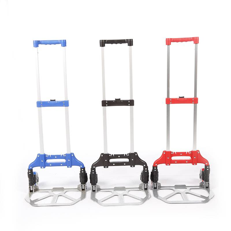 China Wholesale Hand Trolley Factory - Folding luggage trolley DX3006 – DuoDuo