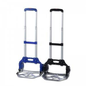 DuoDuo Folding luggage trolley DX3007/DX3008 Aluminum Folding Hand Truck Dolly
