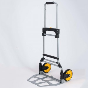 DuoDuo Folding luggage trolley DX3011 With Telescoping Handle and Rubber Wheels
