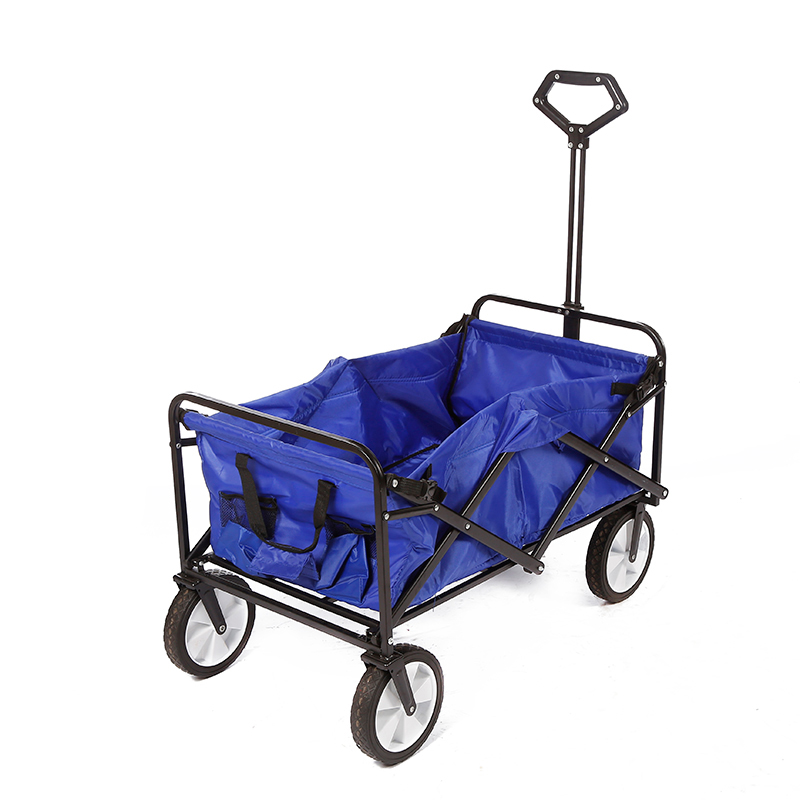China Wholesale 4 Wheel Garden Cart Manufacturers - Multi functions Folding Wagon DX6001 – DuoDuo Featured Image