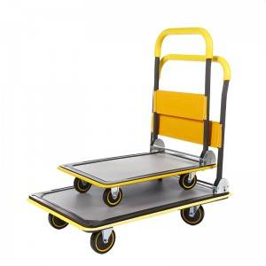 China Wholesale Stainless Steel Platform Trolley Manufacturers - Flat-panel cart HC150D/250D – DuoDuo