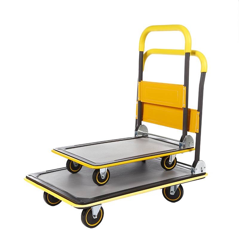 China Wholesale Trolley 150kg Factories - Flat-panel cart HC150D/250D – DuoDuo