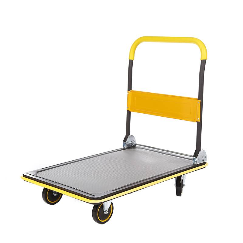 China Wholesale Platform Trolley 300kg Manufacturers - DuoDuo Flat-panel cart HC150D/250D for Loading and Storage – DuoDuo