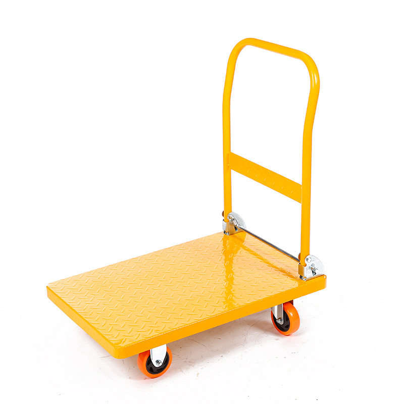 China Wholesale Hand Push Cart Manufacturers - Flat-panel cart HC350G/HC450G – DuoDuo