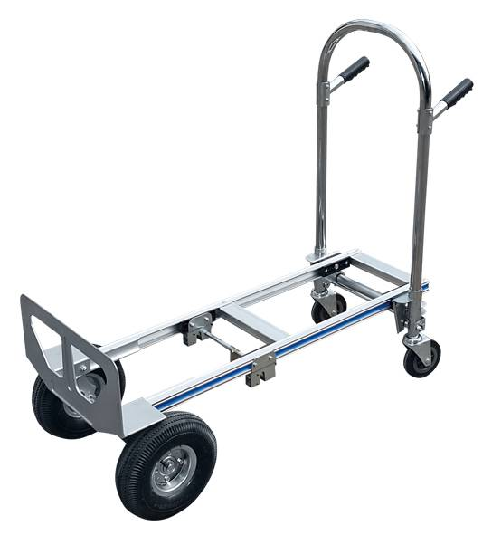 DuoDuo 3 in 1 aluminum multifunction hand truck LH5009 Featured Image