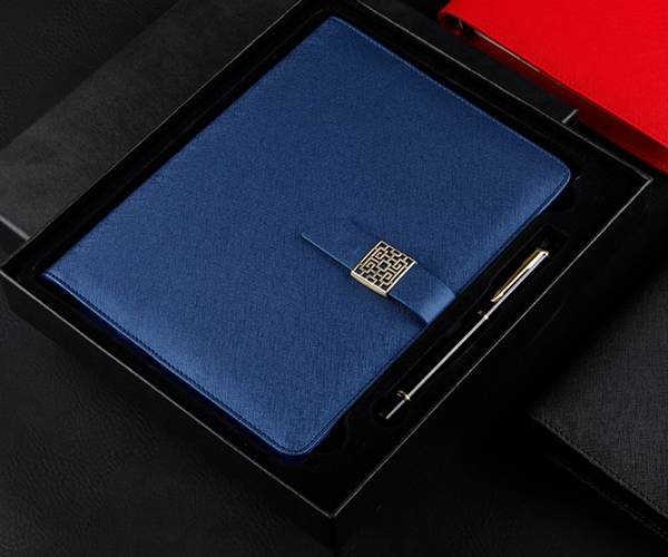 Good Wholesale Vendors Leatherette Notebook - Customized leather color, customized jewelry outer packaging color, customized multi-function gift notepad – Yuxingyuan detail pictures