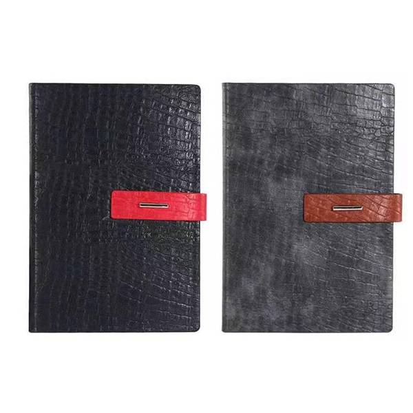 High-quality environmentally friendly PU leather notebook business Featured Image