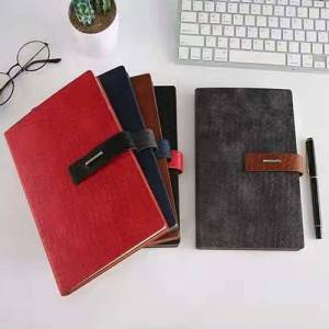 High-quality environmentally friendly PU leather notebook business