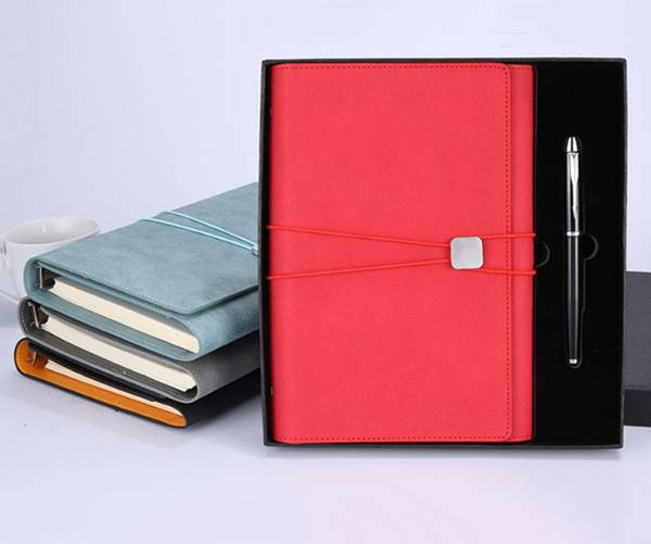 Good Wholesale Vendors Leatherette Notebook - Customized leather color, customized jewelry outer packaging color, customized multi-function gift notepad – Yuxingyuan