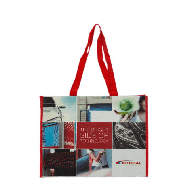 Factory Supply Luxury Non Woven Bag - Wholesale lamination printing shopping Bags Tote Non Woven Grocery Shopping Bag – Zhihongda