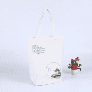 China Wholesale Cosmetic  Makeup  Bags Factory - Strong Large Natural White Canvas Tote Bags with Bottom Gusset Different Sizes – Zhihongda