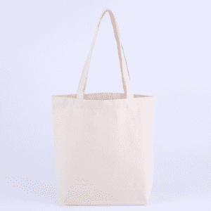 Fashion design natural cotton heavy-duty canvas tote women bag