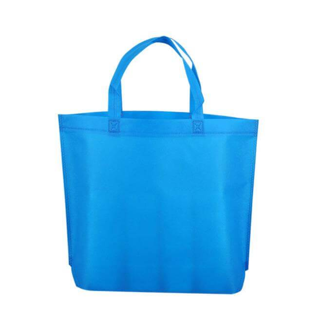 Wholesale Customized Printing Logo China Advertising Shopping Pp Nonwoven Bag Black White Blue Non-woven Promotional Bags Featured Image