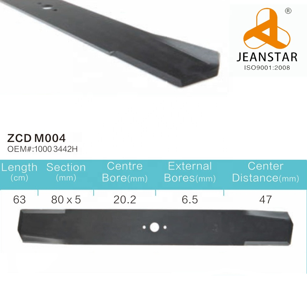 18 Years Factory Yardman Lawn Mower Blades - Customized Lawn Mower Blade Grass Cutter Blade of As Motor-Cheap Mower Blade-Lawn Mower Blade Price – Zhengchida