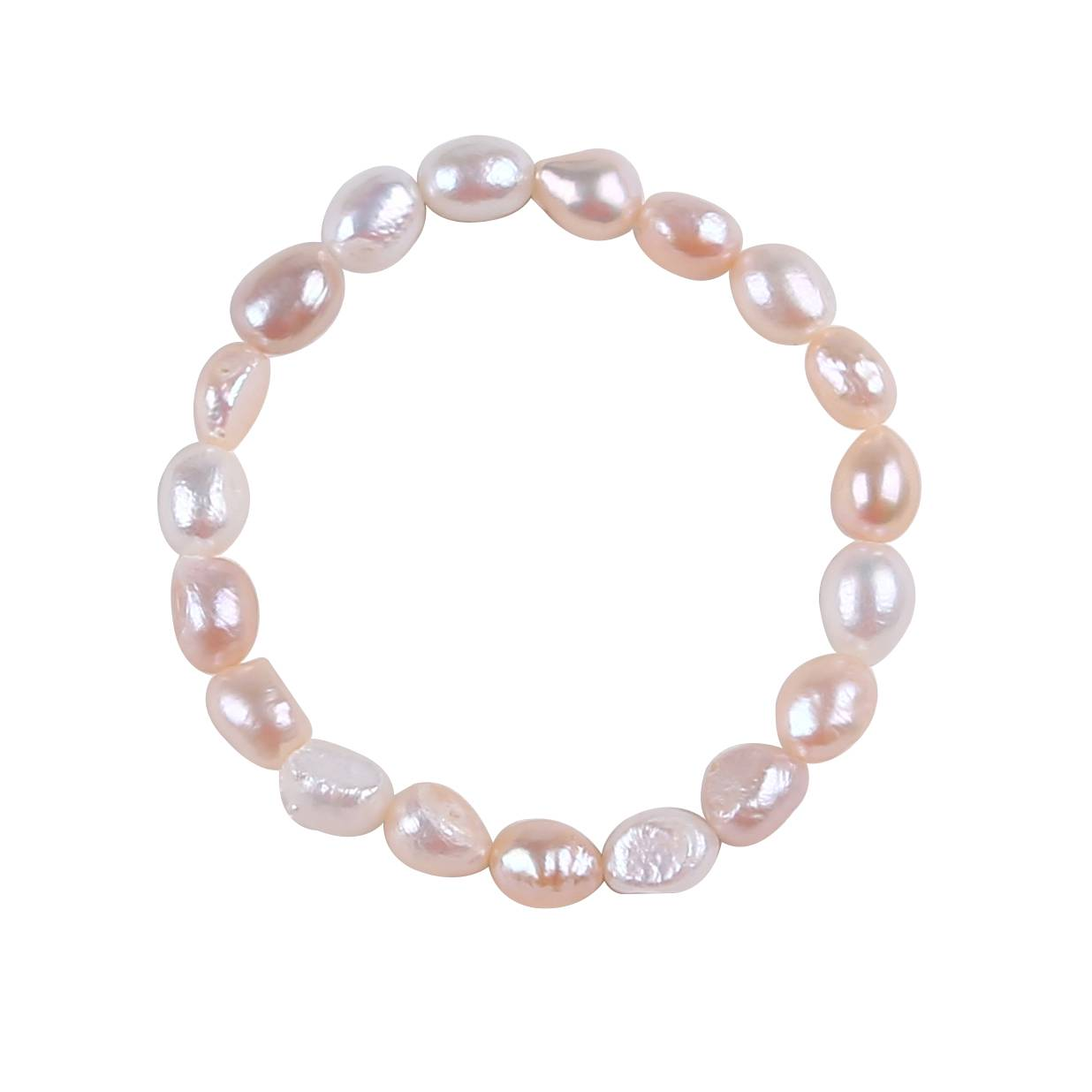 Beautiful High Lustre Baroque Freshwater Pearl Bracelet,PB001