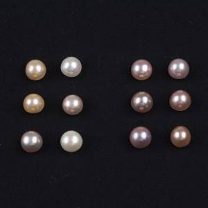 Professional China 11-12mm Freshwater Star Beads - Button Shape White Pink Color Mabe Beads for Pair Jewelry Making 9-10mm Freshwater Pearls No Hole –  Daking Jewellery