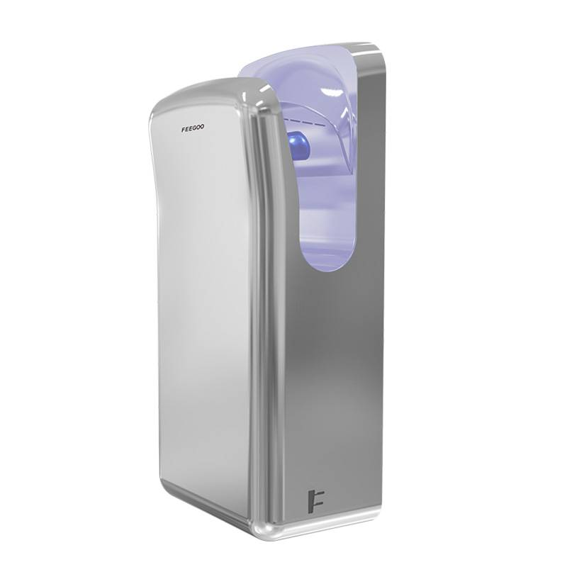 Hot-selling 1650w Jet Hand Dryer - Stainless Steel Jet Hand Dryer For Bathroom FG2006 Brushless – Feegoo