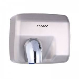 Good quality Light Hand Dryer - Stainless Steel Hygienic Hand Dryer FG8085 – Feegoo