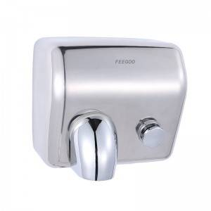 Factory supplied electric jet hand dryer - Stainless Steel Hand Dryer FG8086M – Feegoo