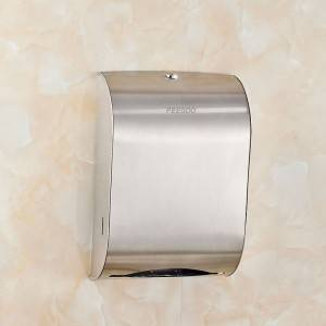 Stainless Steel Wall Mounted Bathroom Paper Dis...