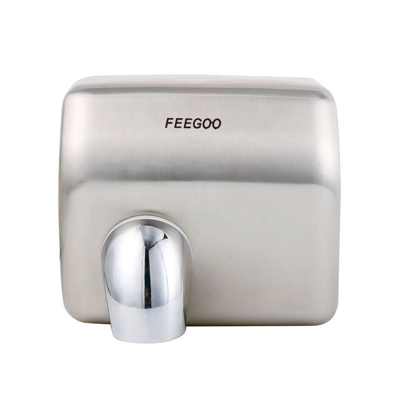 2020 wholesale price Nbf Wall Mounted Hand Dryer - Stainless Steel Electrical Hand Dryer FG8086 – Feegoo