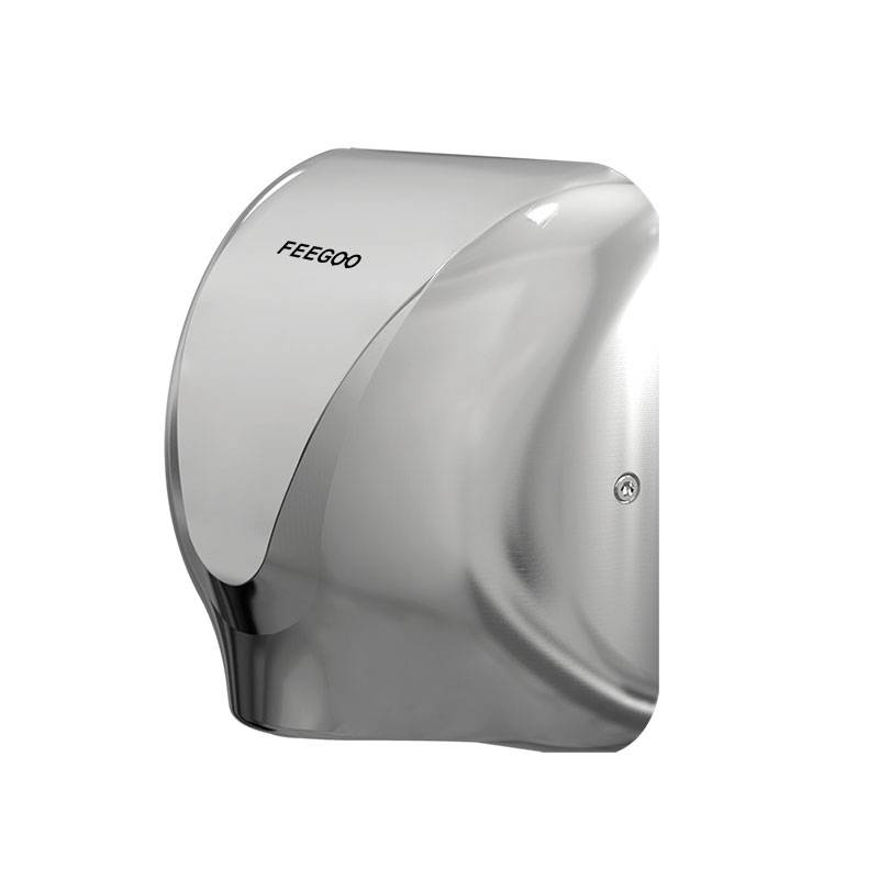 New Fashion Design for hot air hand dryer - Stainless Steel Hand Dryer FG3600 – Feegoo