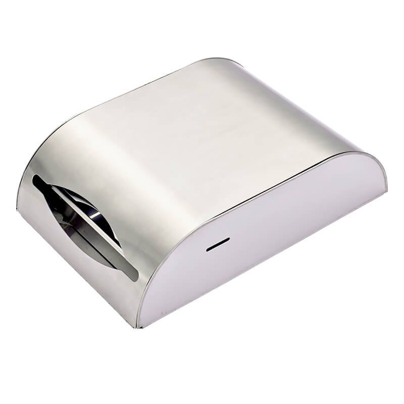 Hot Sale for wall mounted tissue box - Stainless Steel Wall Mounted Bathroom Paper Dispenser FG8903 – Feegoo