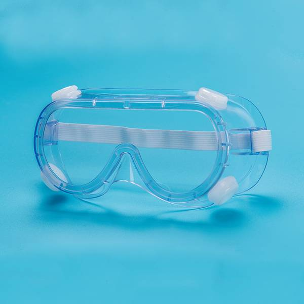 Medical isolation eye mask
