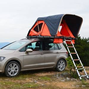 China Manufacturer for Popular Car Roof Tent - Soft car rooftop tent- folding manually with cornice – Yuancheng