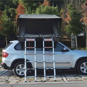 Cheapest Factory Tents For The Top Of Your Car - Hard top folding four-person roof tent – Yuancheng