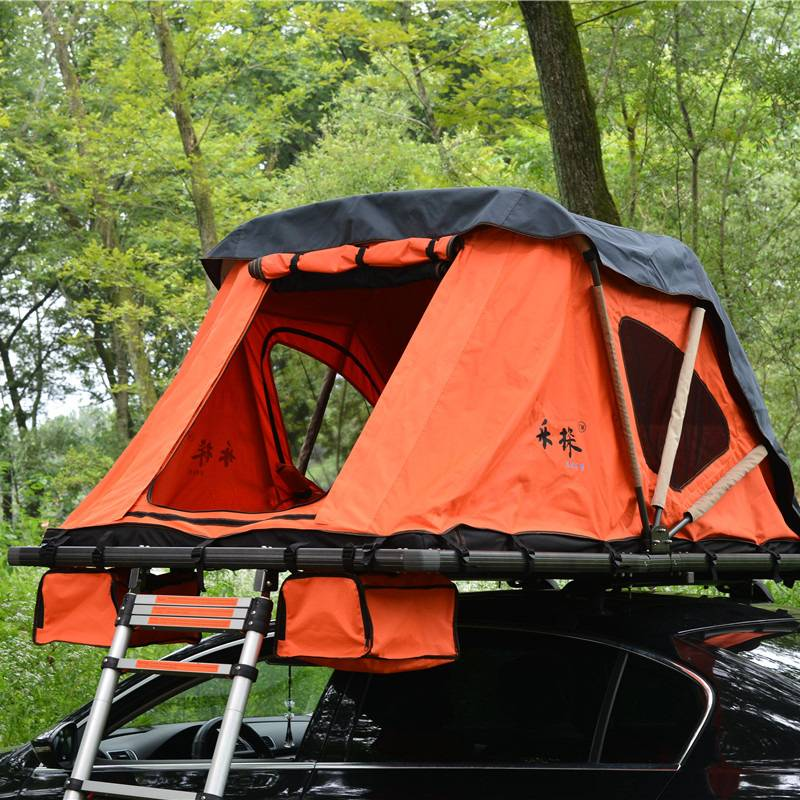 Original Factory Hard Shell Car Roof Top Tent - Roof Tent- Folding Manually – Yuancheng
