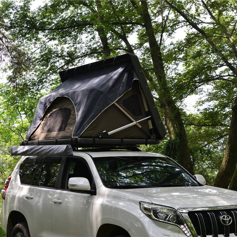 Hard top automatic car roof tent/hard top manual car roof tent Featured Image