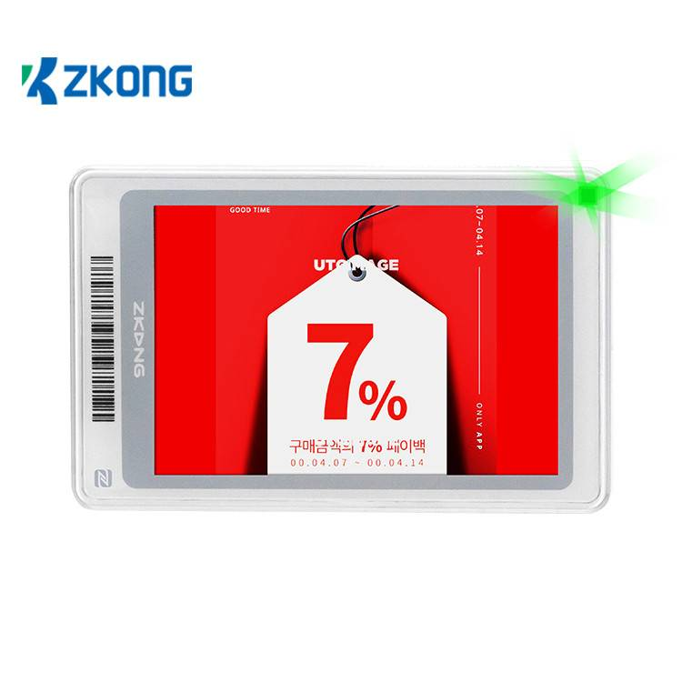 Factory directly supply Pop Up Signage - Electronic Shelf Label pricer retail display price tags esl system – Zkong