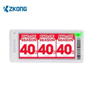 2020 wholesale price Electronic Shelf Label - Digital Price Tag E Shelf Label Pricer ESL For Supermarket Retail Stores – Zkong